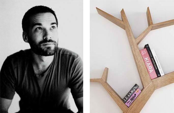bookshelf btanch Olivier Dolle