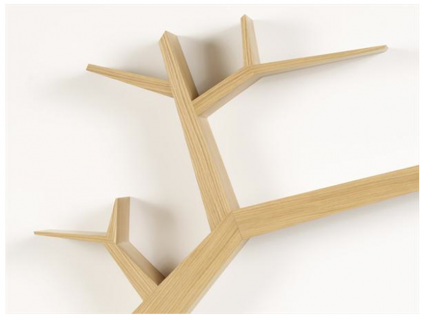 creative branch book shelf by Olivier Dolle 3