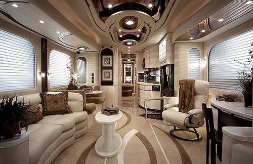 Classic Elegance Trailer Interior Design Ideas. Contemporary Ceiling Mobile  Home ...