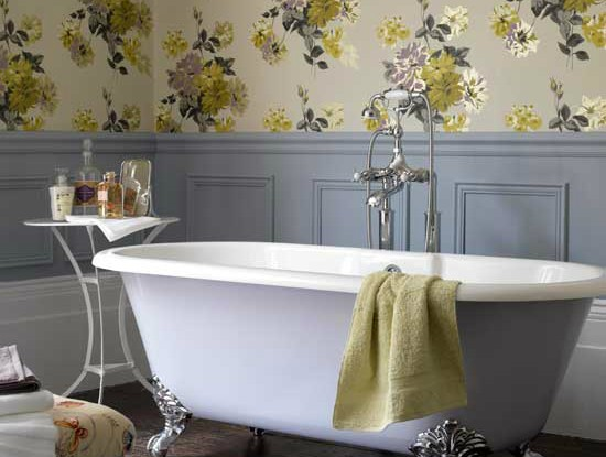 Floral Bathrom Design Ideas 2