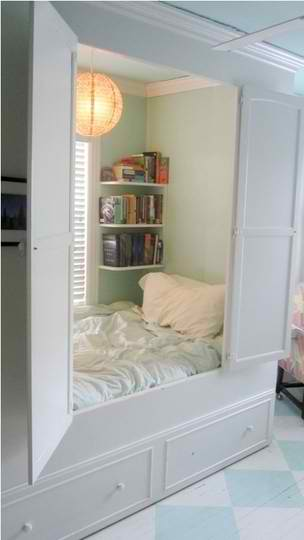 hidden bed in small space smart ideas