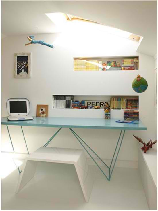 office decorating ideas with laptop