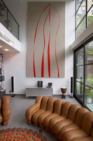 modern house interior design fractal construction3