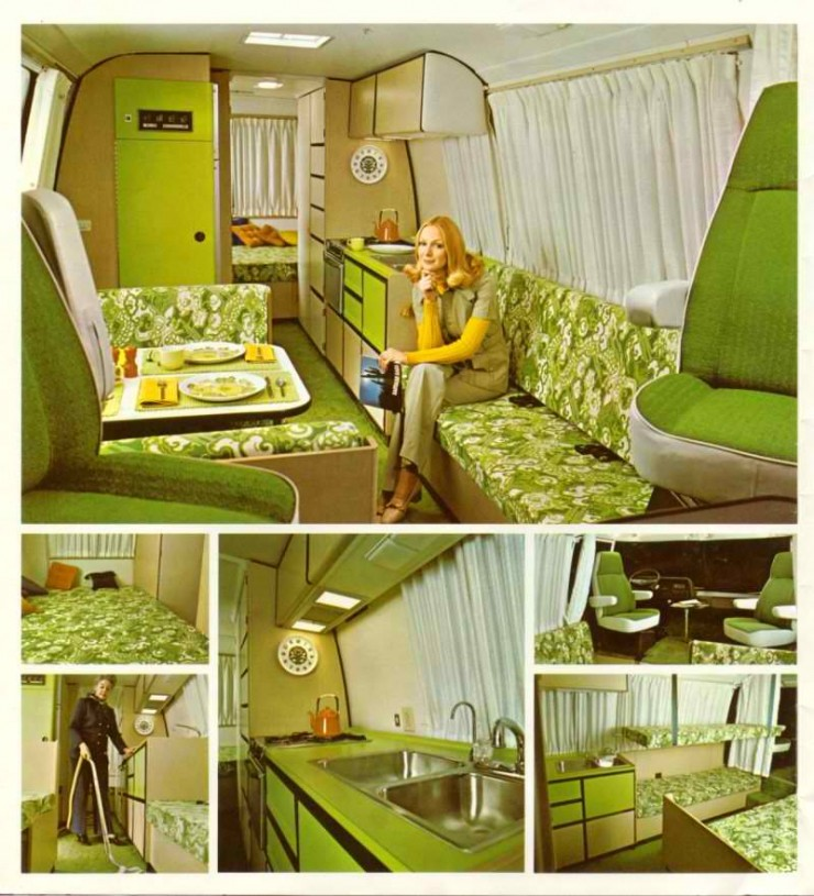 bright green lime trailer interior design ideas
