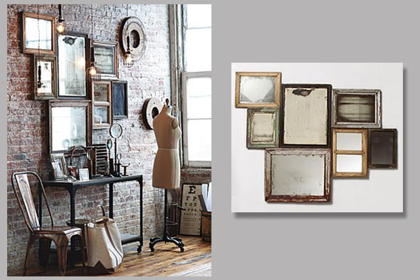 15 mirror decorating ideas decoholic - Home decor wall mirrors collection ...
