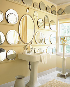 mirrors into shelves interior design ideas