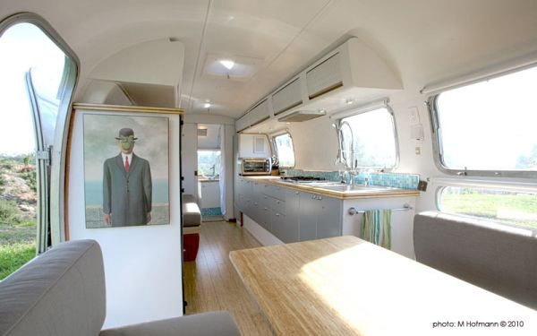 modern contemporary trailer interior design
