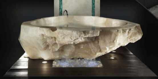one million dollar crystal bathtub by paolo baldi decoholic