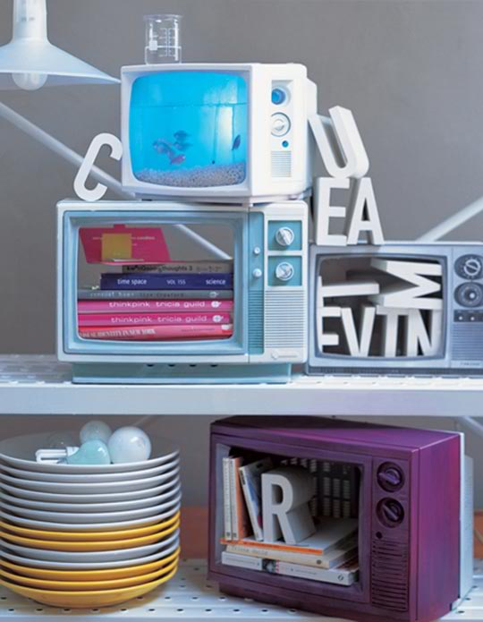 how to recycled an old tv ideas