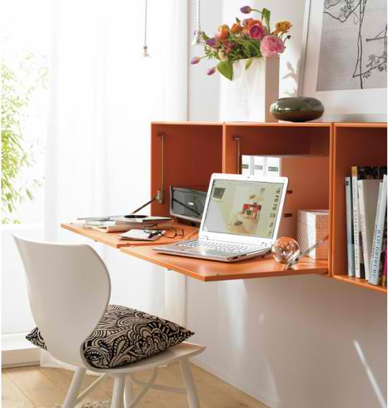 table like this would work great in a small home office