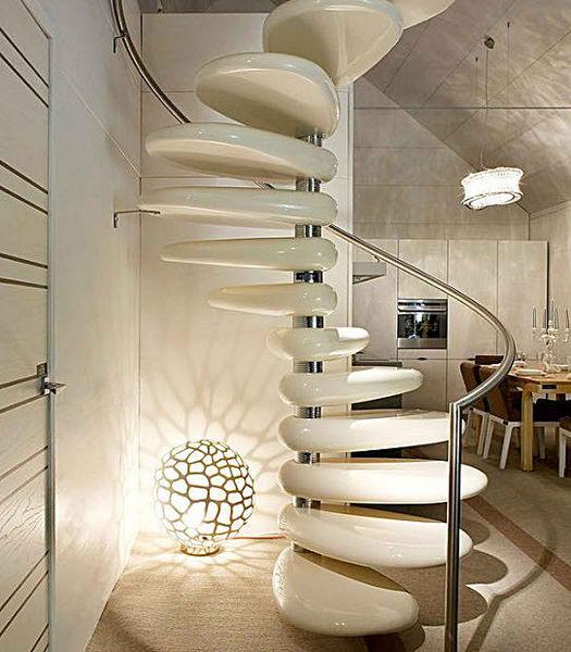 spiral staircase design by roberto semprini