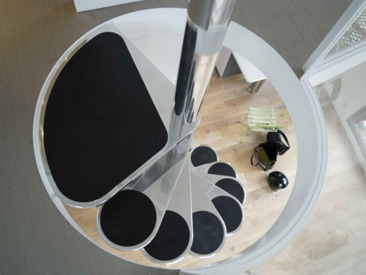 spiral stairs design ideas