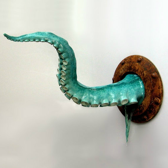 Steampunk Wall Tentacle 2