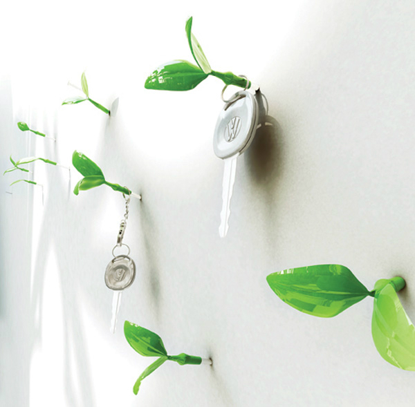 Leaf Wall Hooks by Jeong Hwa Jin 2