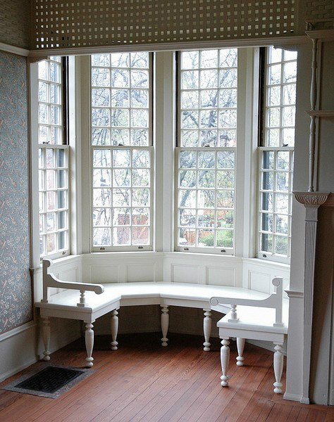 Ideas for a sitting bench under window decoholic