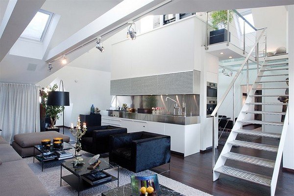 Contemporary Apartment interiors in Stockholm2