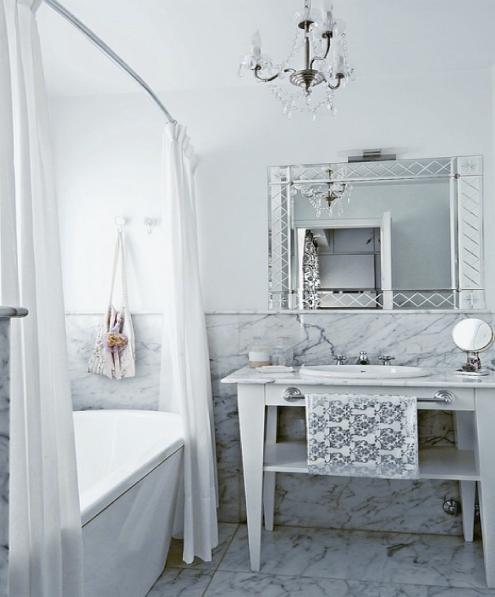 Стильная ванная комната, фото