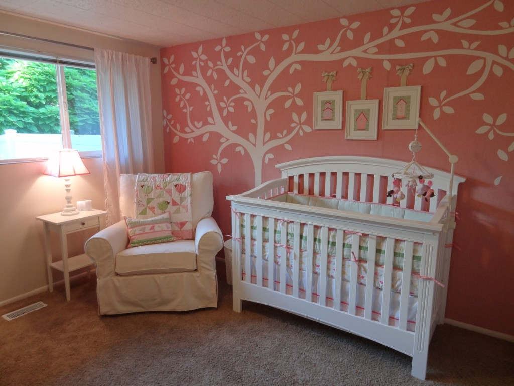 baby girl nursery on - photo #12