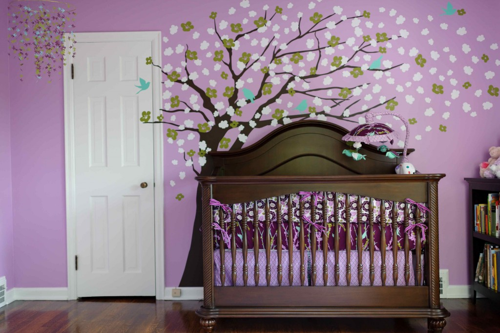 Girl nurseries to inspire decoholic - Cuartos de bebes decorados ...