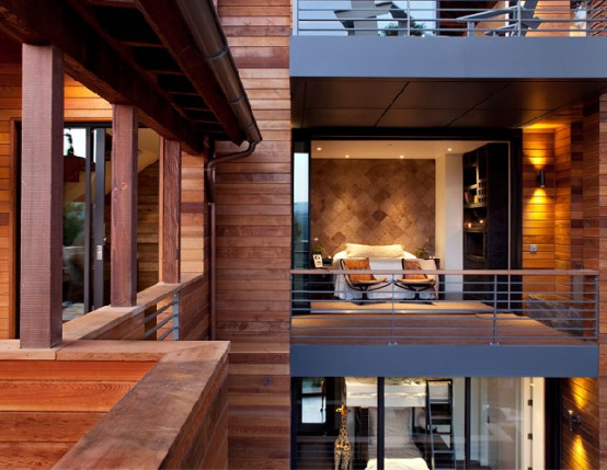 Amazing LEED House with a very Vertical Design6