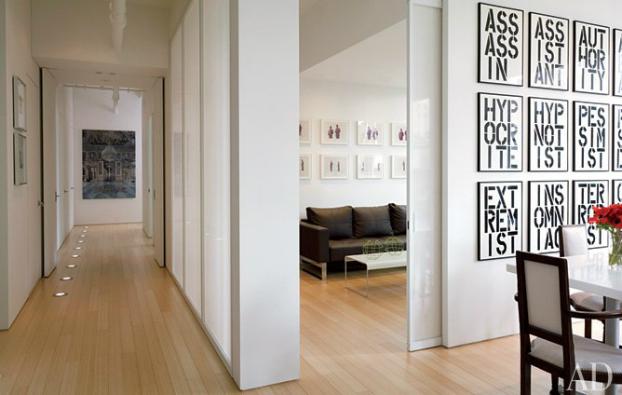 Artful urban loft in manhattan decoholic for Manhattan interior designs