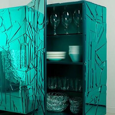 unique console furniture by Fernando e Humberto Campana