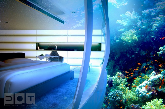 Awesome Underwater Hotel in Dubai The Water Discus