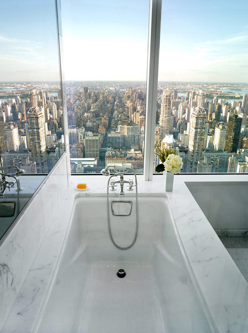 Bon Bathroom With A View Photographed By Adrian Wilson