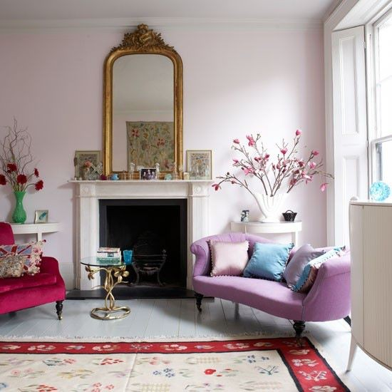 Colorful Living Room Style