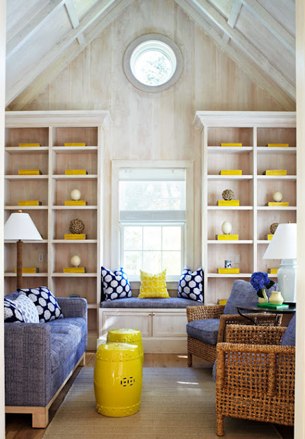 blue and yellow colorful living room 15 ideas