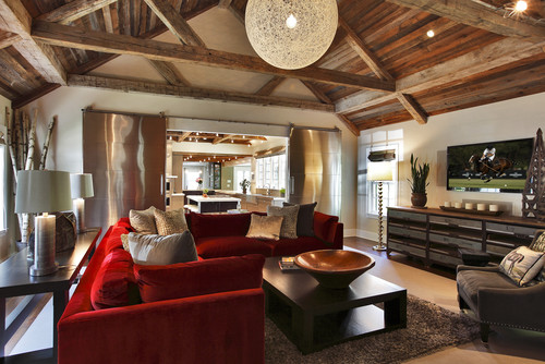 ... Red Living Room Interior Design Ideas 83 ...