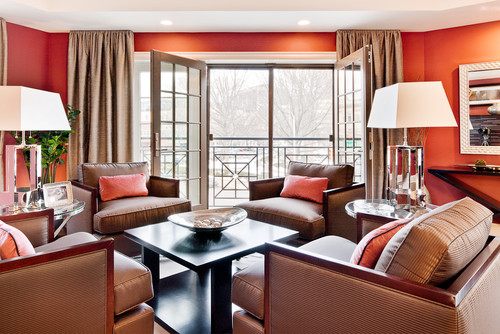 40 Park Roseland Property Morristown NJ contemporary living room