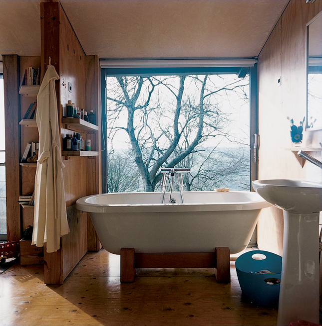 cottage bathroom with a view Piers Taylor
