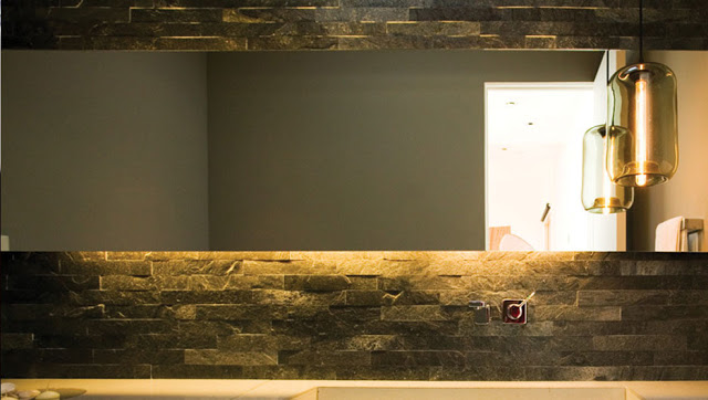 contemporary bathroom mirror by cantilever design