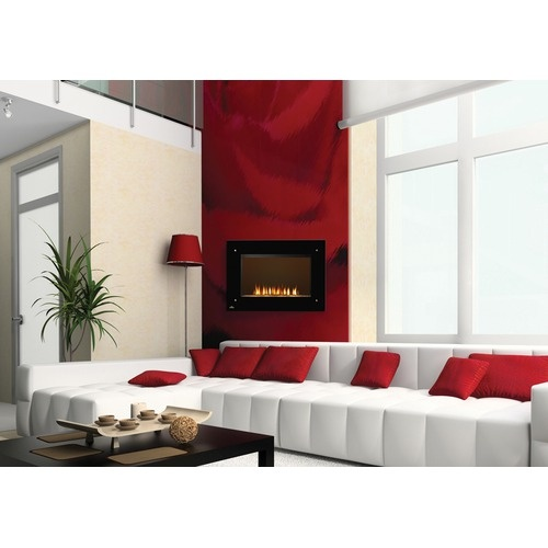 Red Living Room Interior Design Ideas 26