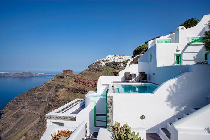 Dreams Traditional Luxury Suites in Greek Island Santorini   villa in greek island 25