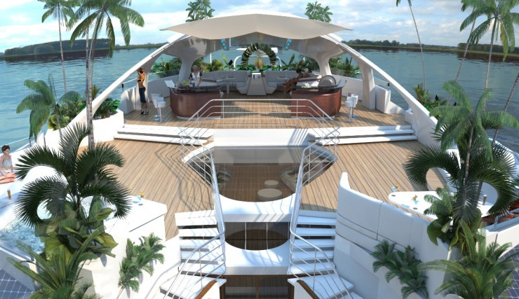 Orsos Luxury Yacht home like island