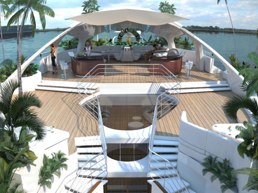 Orsos Luxury Yacht home like island