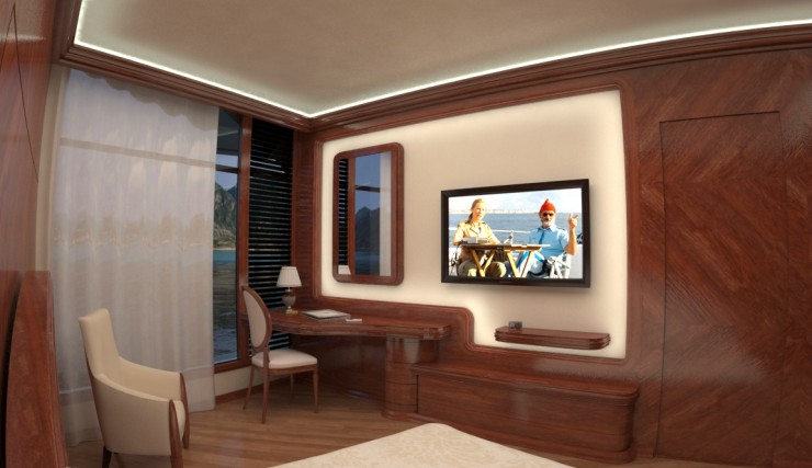 Orsos Luxury Yacht home like island 10