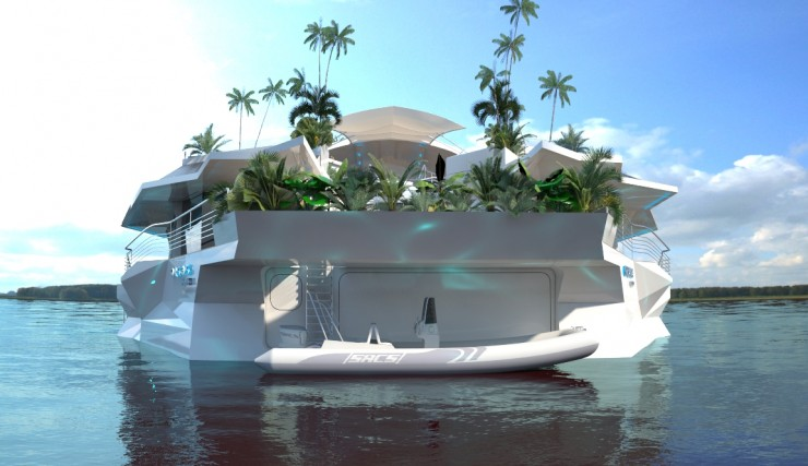 Orsos Luxury Yacht home like island 5