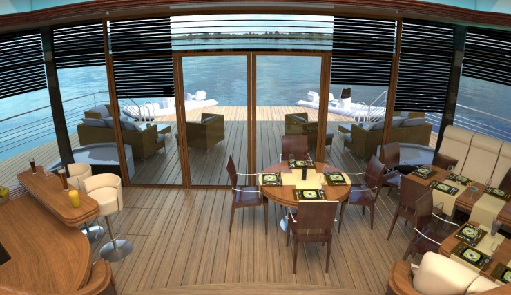 Orsos Luxury Yacht home like island 8