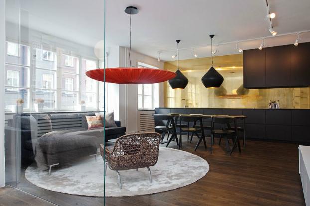 Smallloft Apartment by Daniel Nyström 2