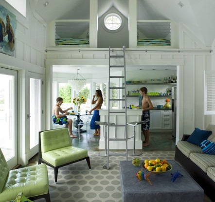 Cool pool house interior design by Architect Siemasko 2