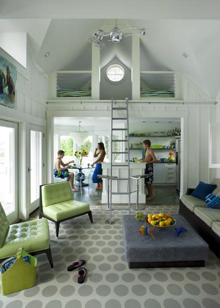 Cool pool house interior design by Architect Siemasko 2
