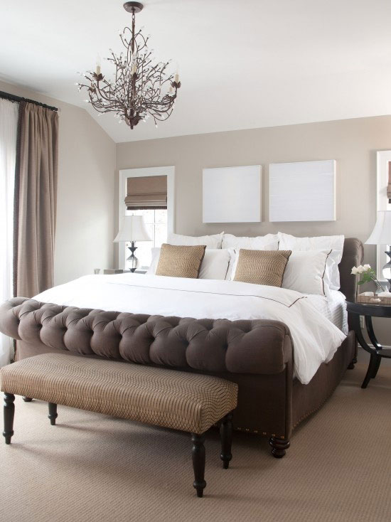 brown and white bedroom 10 brilliant brown bedroom designs 14662