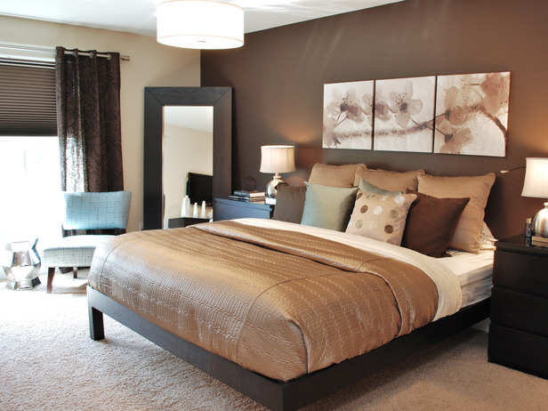 10 brilliant brown bedroom designs - Dark bedroom designs ...