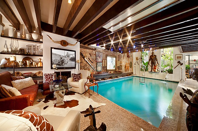 House With Swimming Pool In The Living Room Decoholic