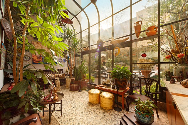 manhattan house balcony garden