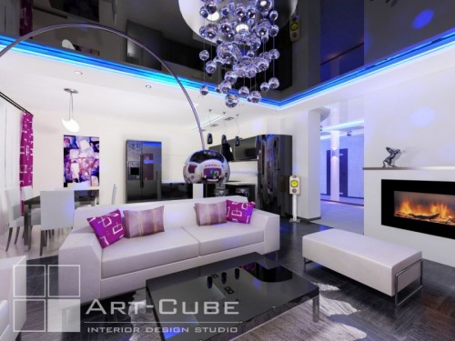 modern house 3d design by Art-Cube