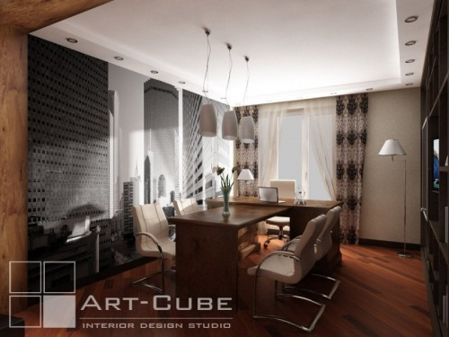 modern house 3d design by Art-Cube 11
